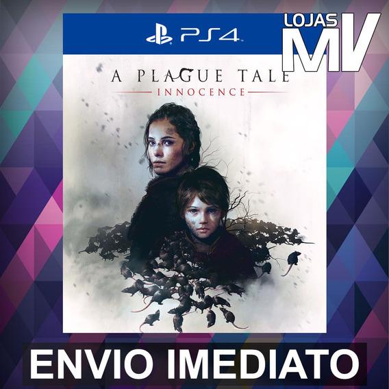 A Plague Tale Innocence - Ps4 Código 12 Dígitos