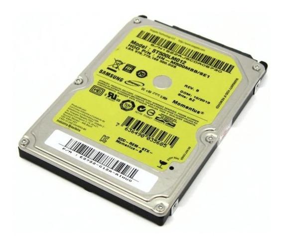 Hd Notebook 500 Gb Usado Funcionando Garantia De 3 Meses