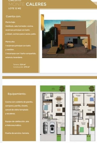 Bonitas Casas Nuevas, Zona Reliz, Fraccionamiento Privado, Totalmente Equipadas