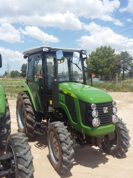 Tractor Chery 80 Hp 4x4 Doble Tracción 3 Puntos Tipo Valtra