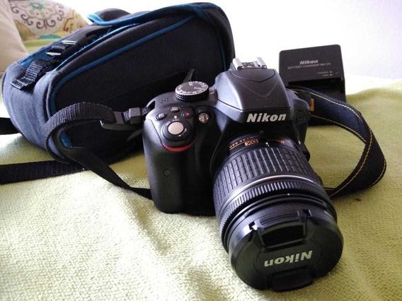 Nikon D3300 + Lente 18-55 + Accesorios! / 6300 Disparos