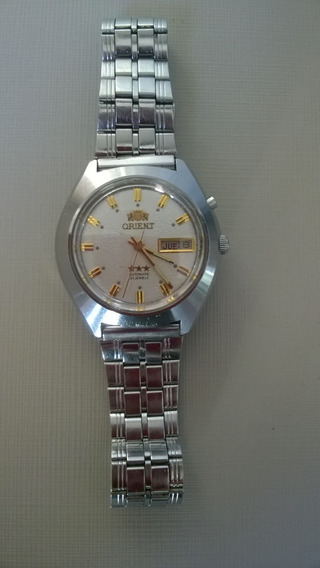 Lindo Relógio Orient Modelo Raro Perolado Automático Anos60
