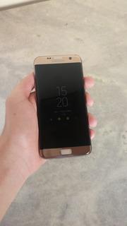 Smartphone Samsung Galaxy S7 Edge 32gb Desbloqueado Dourado