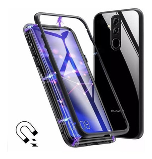 Capa Case Magnetica Glass Huawei Mate 20 Lite