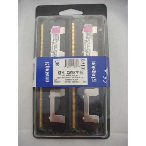 Memoria Kingston 16gb Ddr2 Ecc Kth-xw667/16g Hp 413015-b21
