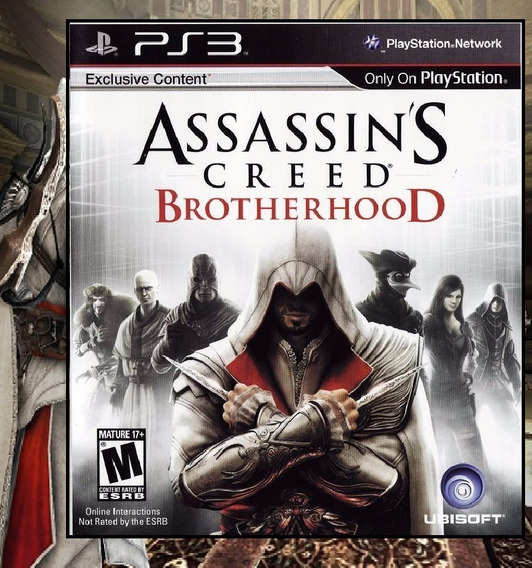Assassins Creed Brotherhood Ps3 Psn - Midia Digital