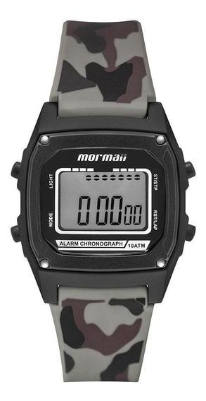 Relógio Infantil Mormaii Mon28ac/8v 37mm Silicone Camuflado