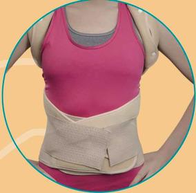 Faja Corrector Postura Dorso Lumbar Con Varilla Ortopedica