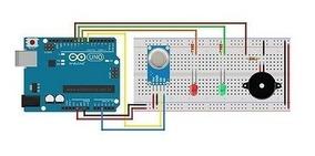 Sensor Mq-2 Gás Metano Butano Glp Fumaça Arduino Mq2 Mq 2