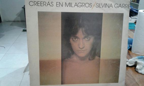 Disco Vinilo Silvina Garre Creeras En Milagros