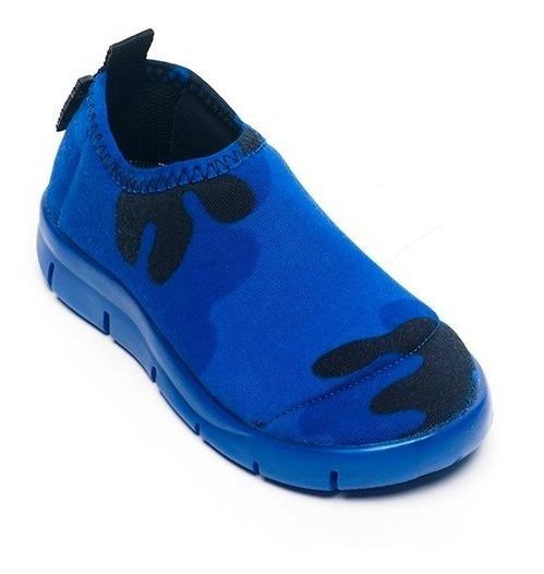 Zapatillas Surf Diez Indiecitos Elastizadas 18 Al 26 Azul