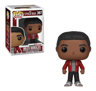 Miles Morales Funko Pop #397 Spider-man Ps4