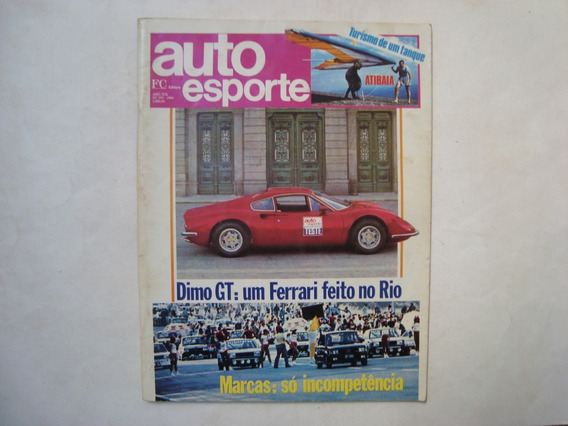 Revista Auto Esporte N. 235 - Ferrari Feito No Rio