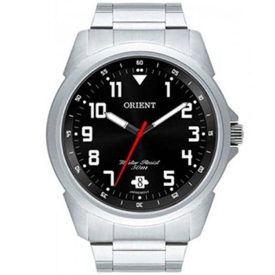 Relógio Masculino Orient Mbss1154a P2sx Analógico Prata