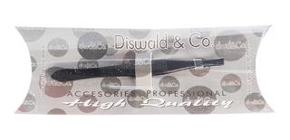 Diswald & Co Perfilador Cejas Pinza Depilar Negra Recta 1933