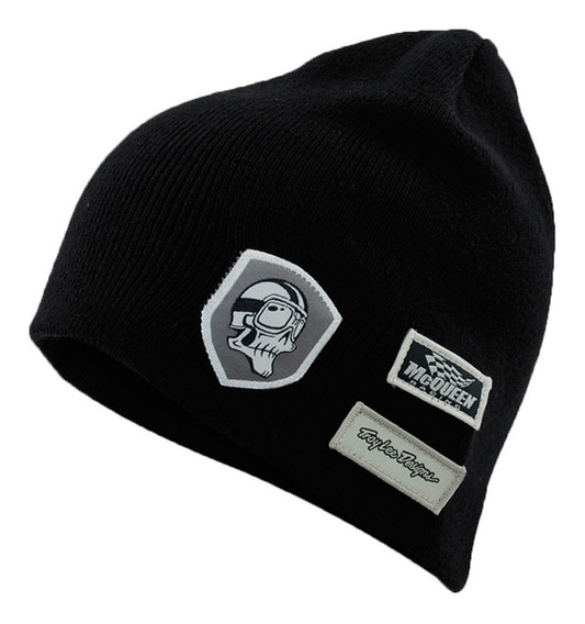 Touca De Inverno Masculina Troy Lee Patched Up Cinza