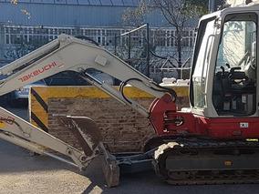 Mini Excavadora Takeuchi Tb250 Con Muy Pocas Horas