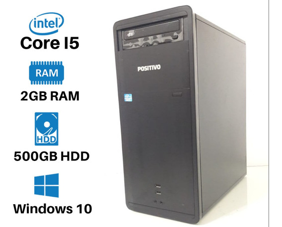 Computador Core I5 500gb 2gb + Wifi + Office
