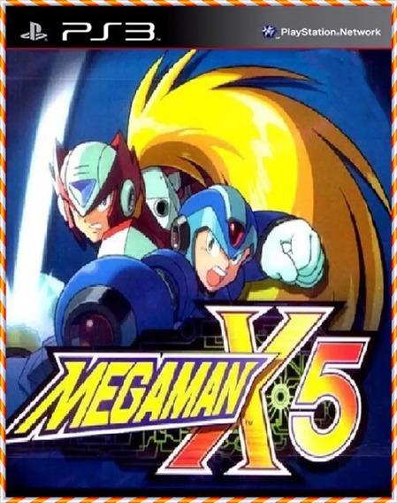 Mega Man X5 Megaman Ps3 Ps1 Classico Psn Pronta Entrega
