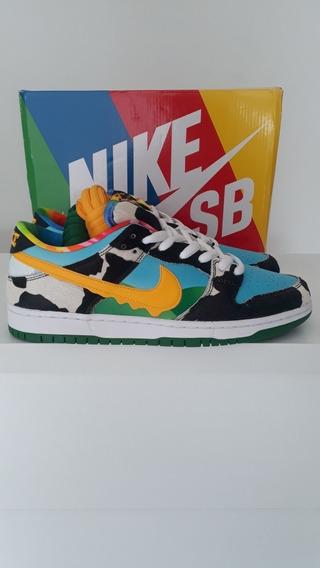 Tênis Nike Sb Dunk Low Ben E Jerrys Chuncky Jordan
