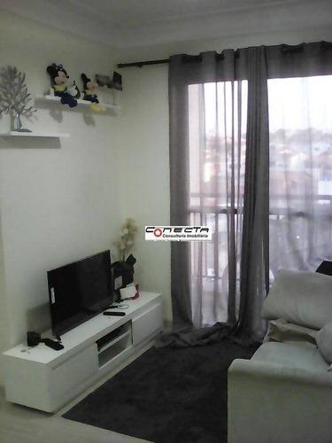 Imagem 1 de 7 de Apartamento Residencial À Venda, Jardim Myrian Moreira Da Costa, Campinas. - Ap0257