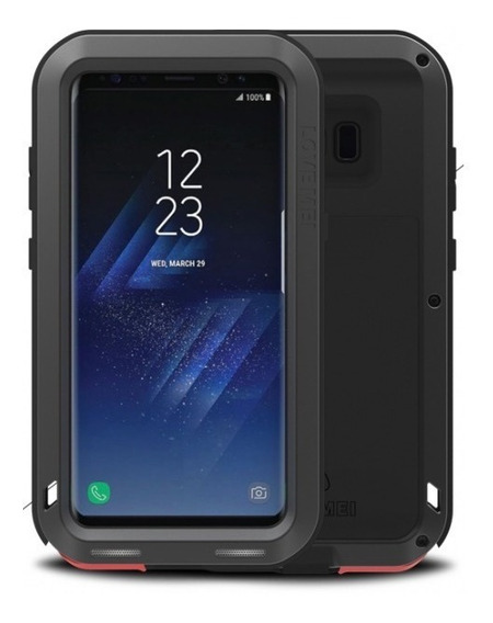 Funda Samsung S8 Love Mei Powerful De Uso Rudo Aluminio