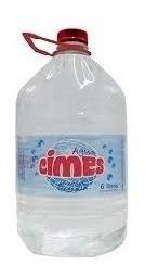 Agua Cimes Descartable 6 Lts