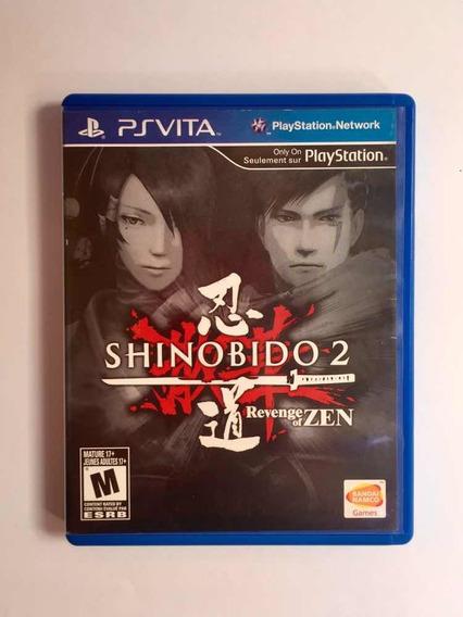 Shinobido 2 Revenge Of Zen Ps Vita Mídia Física