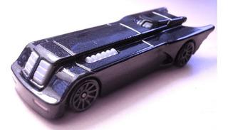 Envio Gratis Batimobil Serie Animada Azul Hot Wheels