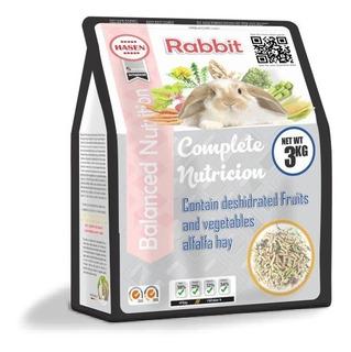Comida Para Conejo Rabbit 3kg Balanceada