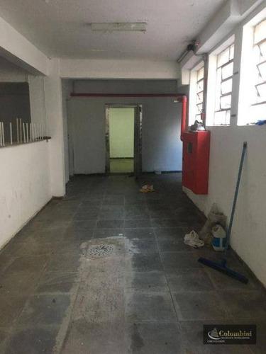 Salão, 224 M² - São José - São Caetano Do Sul/sp - Sl0086