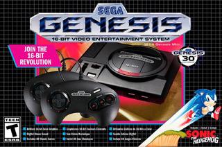 Sega Genesis Mini Classic Oficial Sega 2019 40 Juegos + 2