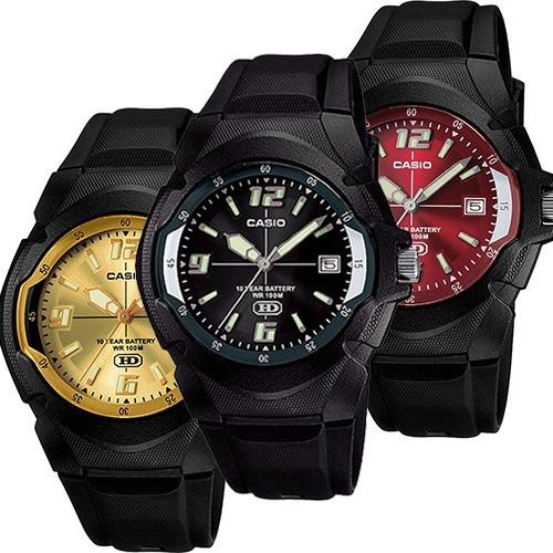 Reloj Casio Mw600 Varios Colores Fechador Pila 10 Años