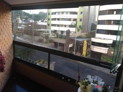 Apartamento Com 3 Dormitórios À Venda, 126 M² Por R$ 735.000,00 - Centro - São Bernardo Do Campo/sp - Ap1648
