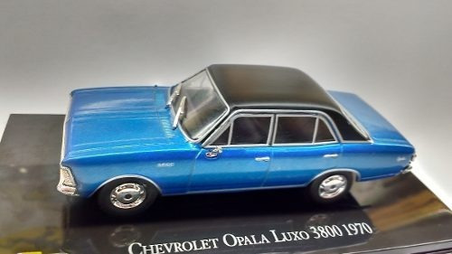 Lote 13 Miniaturas Chevrolet Opala 1/43 + Fascículos