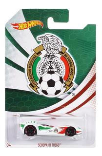 Hot Wheels Equipo México Hw City Scoopa Di Fuego Futbol