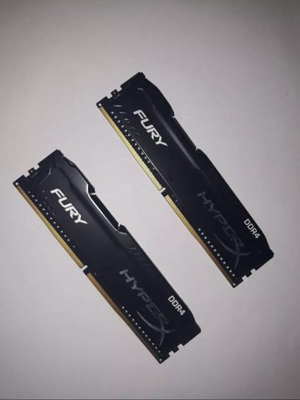 Memoria Hyperx 8gb Ddr4 2x4gb 2400mhz