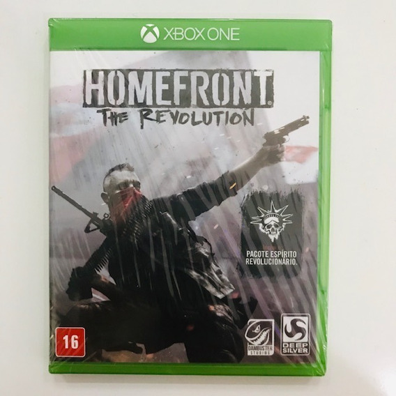 Homefront Legendado Para Xbox One Mídia Física Re-lacrado