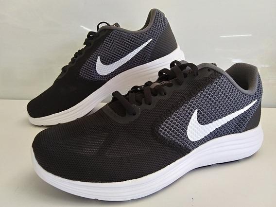 Tenis Nike Revolution 3e(4e) Hombre Negro