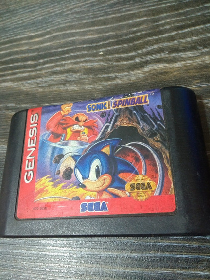 Sonic Spinball - Mega Drive