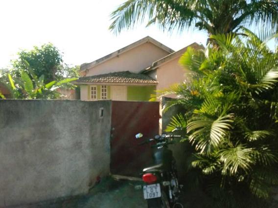 Casa Com 7 Cômodos Localizada No Interior Do Município