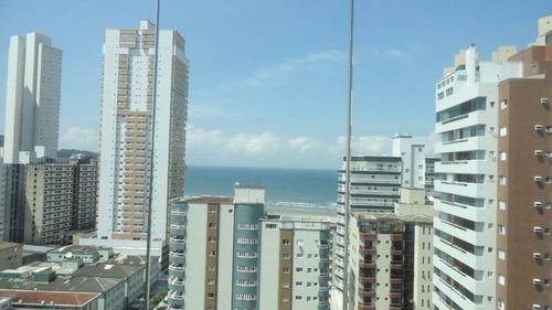 Apartamento À Venda, 76 M² Por R$ 485.000,00 - Guilhermina - Praia Grande/sp - Ap5965