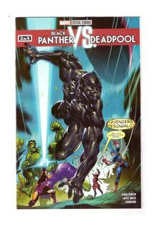 Black Panther Vs Deadpool # 2 - Editorial Televisa