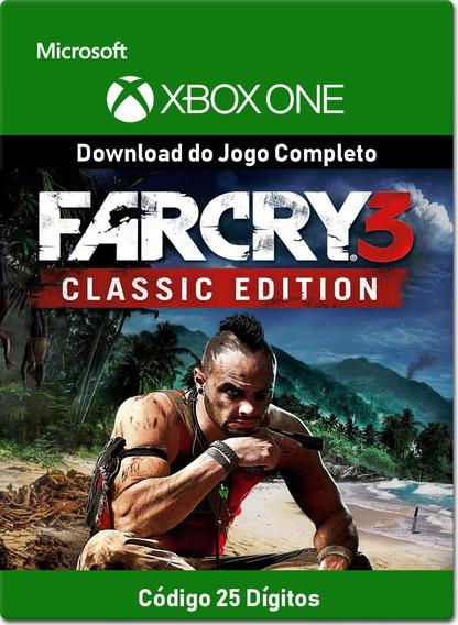 Far Cry 3 Classic Edition - Xbox One - Código 25 Dígitos
