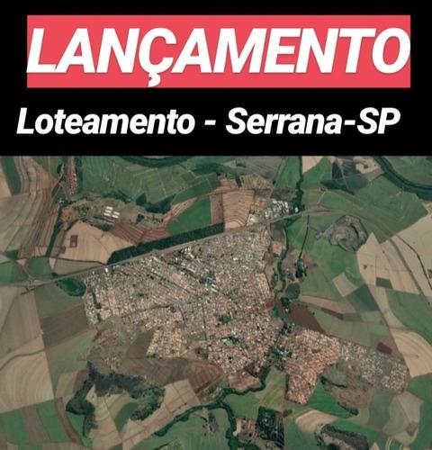 Super Lançamento De Lotes Em Serrana, Pronto Para Morar, 410 M2, Entrada Mais Saldo Parcelado Em Ate 240 Vezes - Te00314 - 34479599