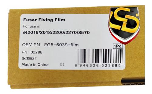 Imagen 1 de 2 de Fixing Film Compatible Gpr-6/18/15/16 Fg6-6039