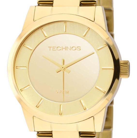 Relógio Technos Feminino Fashion 2035lqa/4d Trend C/ Nfe