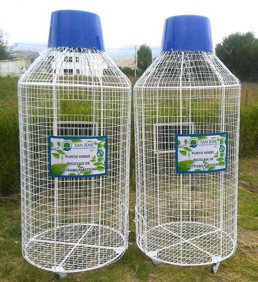 Basureros Para Reciclar Botellas Plásticas
