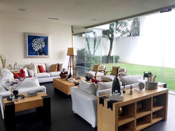 Residencia En Condominio En Venta, Pedregal San Ángel