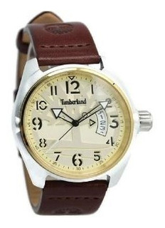 Reloj Timberland Hombre Cuero Bordo 5atm Tbl.13679jltg/07